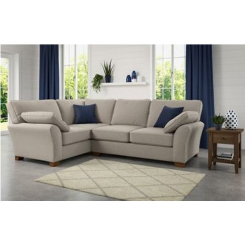 M&S Camborne Small Corner Sofa (Left-Hand) - Slcnr - Grey, Grey,Alabaster
