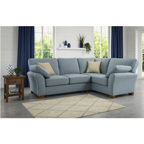 M&S Camborne Extra Small Corner Sofa (Right-Hand) - Exsrc - Steel, Steel,Natural,Charcoal,Duck Egg