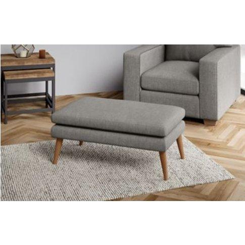 M&S Harper Small Footstool - Smstl - Chestnut, Chest...