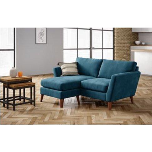 M&S Foxbury Corner Chaise Sofa - Chse - Blush, Blush