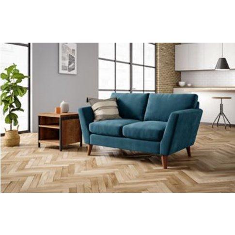 M&S Foxbury Small Sofa - Steel, Steel,Dusky Pink,Gre...