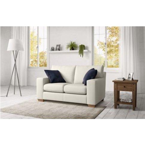 M&S Alfie Compact Sofa - Compq - Silver, Silver