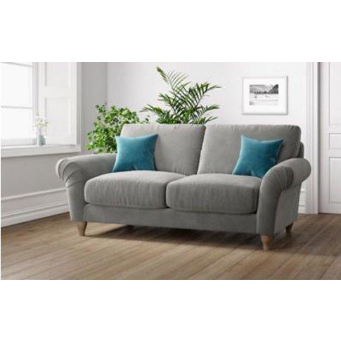 M&S Grace Medium Sofa - Silver, Silver