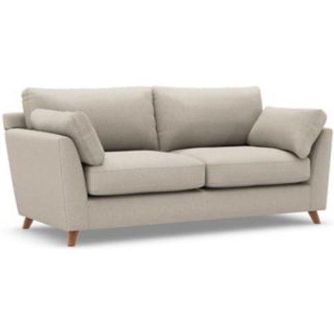 M&S Oscar Medium Sofa - Grey, Grey,Charcoal,Navy,Nat...