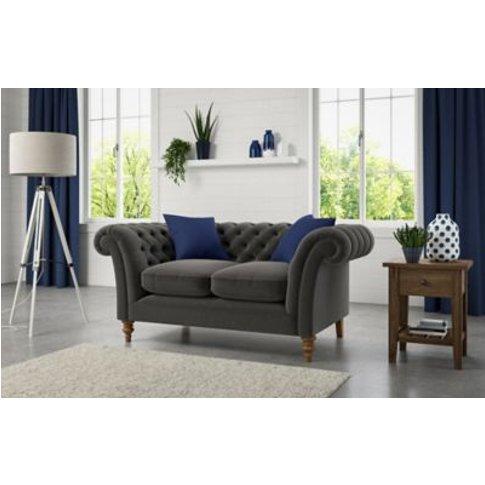 M&S Ashingdon Medium Sofa - Steel, Steel,Duck Egg,Na...