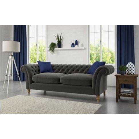 M&S Ashingdon Extra Large Sofa - Xlge - Dark Brown, Dark Brown,Chestnut