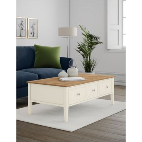 M&S Greenwich Storage Coffee Table - 1size - Oak, Oak