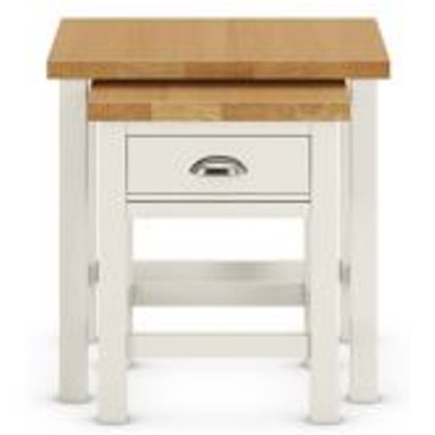 M&S Padstow Nest Of Tables - 1size - Dark Blue, Dark...