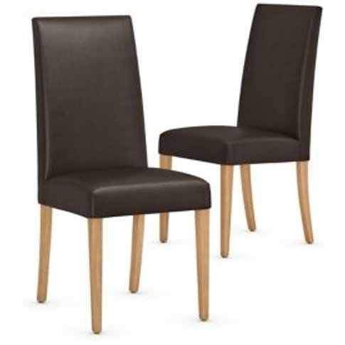 M&S Set Of 2 Alton Dining Chairs - 1size - Brown, Brown