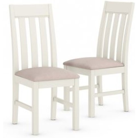 M&S Set Of 2 Padstow Fabric Dining Chairs - 1size - ...