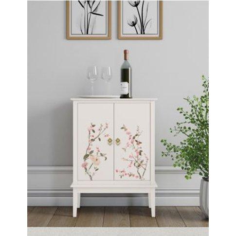 M&S Santoro Drinks Cabinet - 1size - Light Pink, Lig...