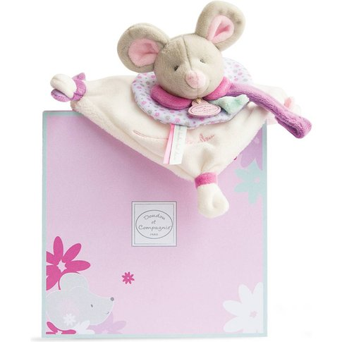 Pearly Mouse Comfort Blanket and Dummy Holder