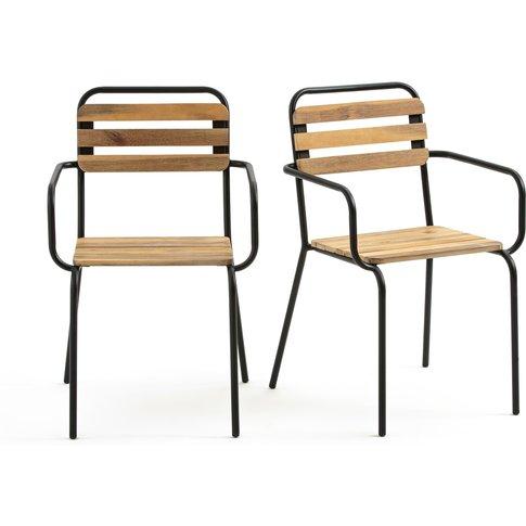 Set of 2 Dexoto Garden Chairs