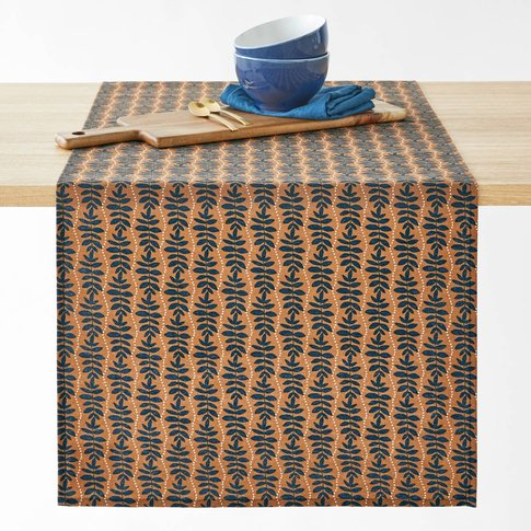 Cyrelle Polycotton Printed Table Runner