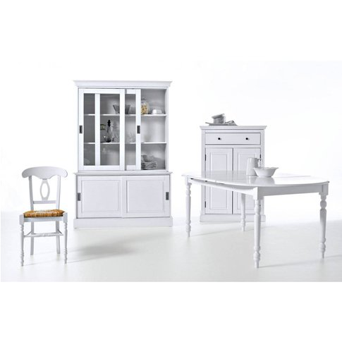 Authentic Style Solid Pine Parisian-Style Sideboard