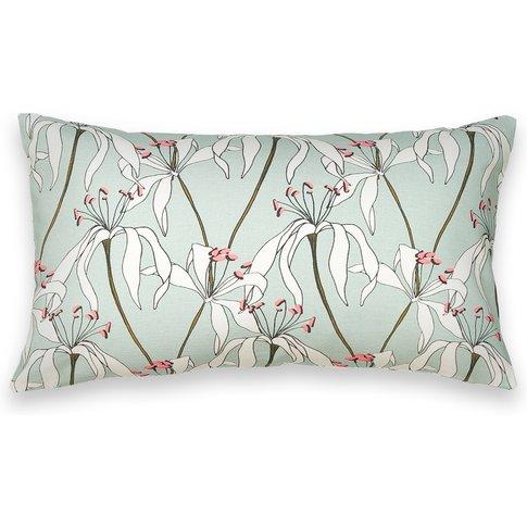 Hoan Floral Print Cotton Cushion Cover
