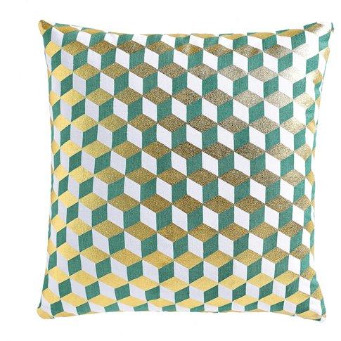 Decio Cotton Geometric Cushion Cover