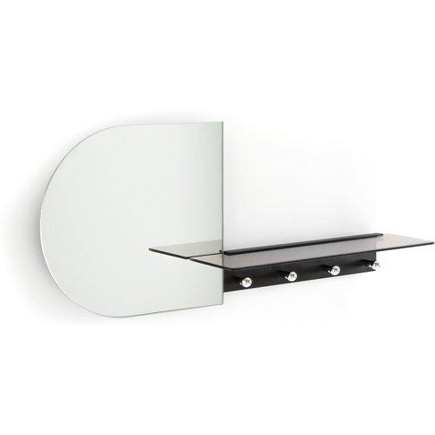 Seventy Coat Rack In Metal/Glass With Mirror