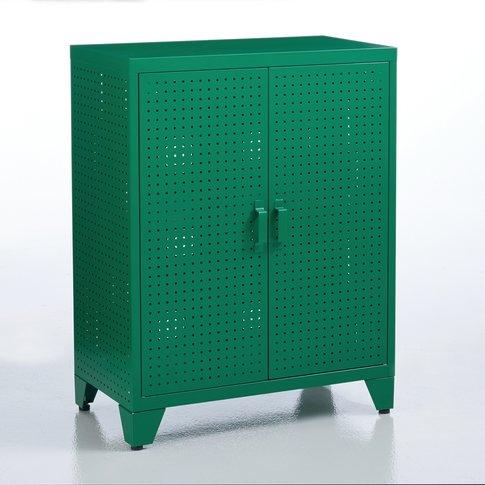 Perforated Locker Cabinet