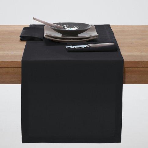 SCENARIO Plain Polyester Table Runner