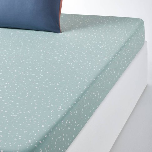 HILDA Spotted Cotton Fitted Sheet