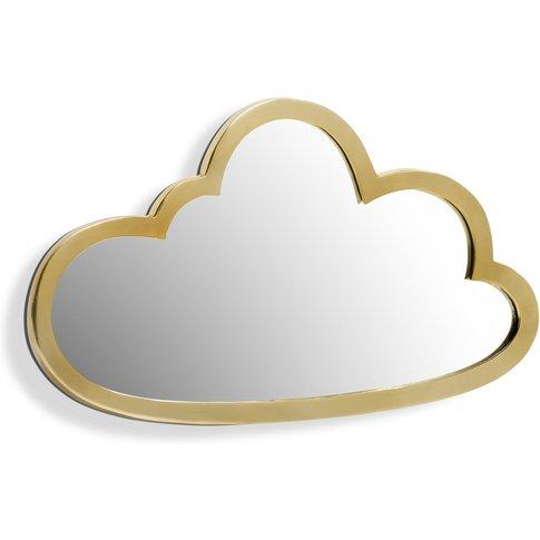 Zicowi Brass Cloud-Shaped Mirror, Width 45 X Height ...