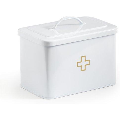 Aulo Metal Medicine Storage Box With Lid