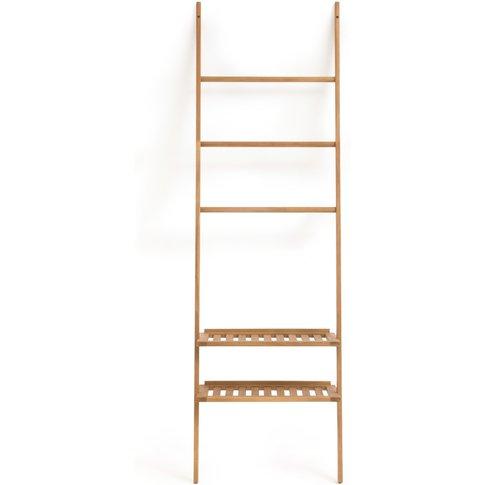 ACACIA Wooden Bathroom Ladder-Style Shelving Unit