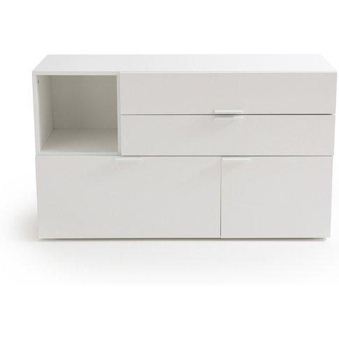 Rémia 3 Drawer 1 Cupboard Storage Sideboard
