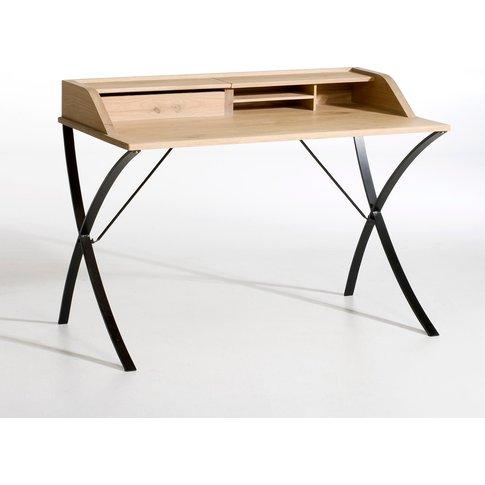 Épitre Oak and Metal Desk