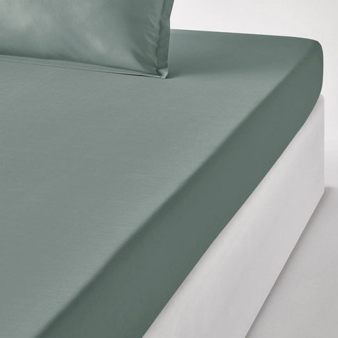 Cotton Percale Fitted Sheet