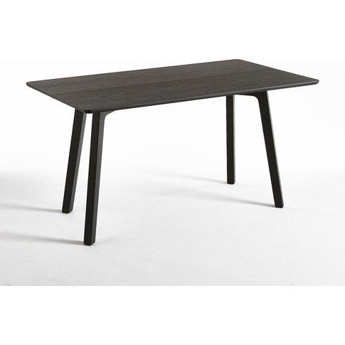 DILETTA Solid Oak Folding Console Table by E. Gallin...