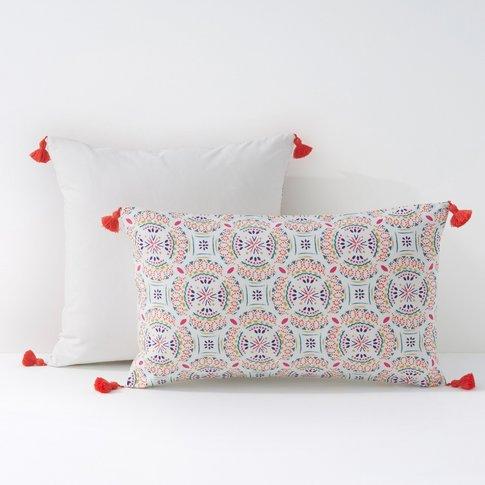 Rosace Cotton Percale Pillowcase/Cushion Cover