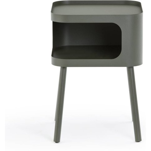 Malakou Metal Bedside Table