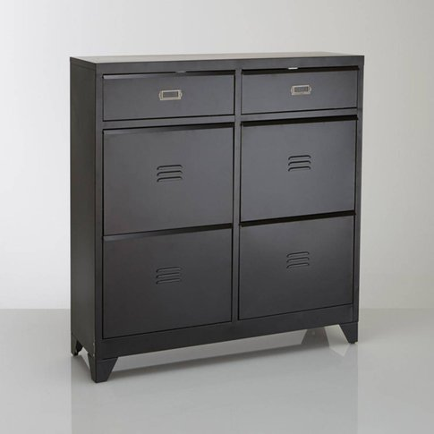 Hiba 4-Drawer Shoe Cabinet
