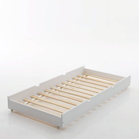 LOAN Solid Pine Trundle Bed