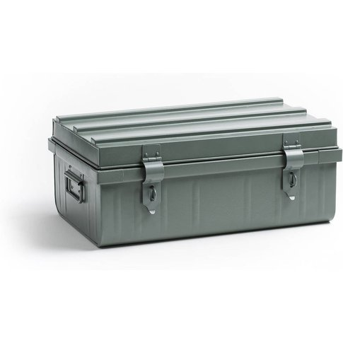 Masa Painted Metal Storage Trunk
