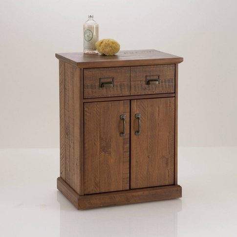 Lindley 2 Door, 1 Drawer Chest In Solid Pine