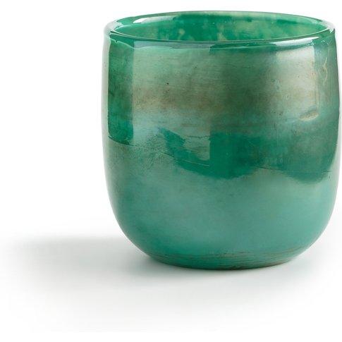 Timeon Glass Candle Holder, Ø10cm