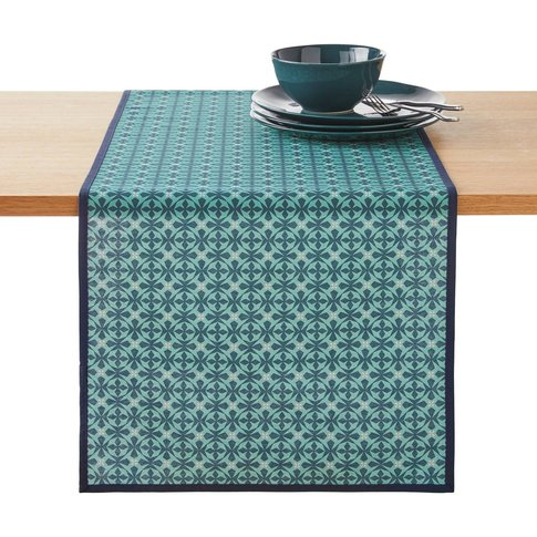 AZILA Printed Anti-stain Table Runner