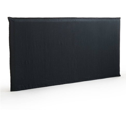 Sandor Pre-Washed Linen Xl Headboard Cover