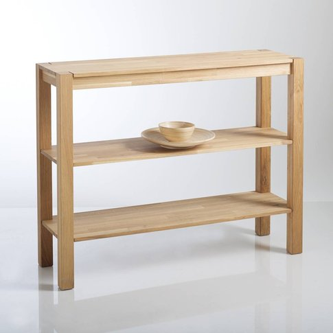 ADELITA  Oiled Solid Oak Console Table