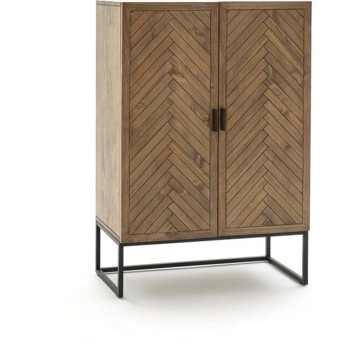 Nottingham 2 Door Pine Parquet Cabinet