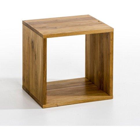 Box Oak Storage Cubes, 2 Sizes