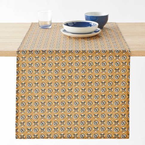 Oriane Cotton Coated Table Runner