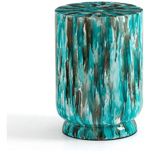 Rilke Laquered Bamboo Side Table