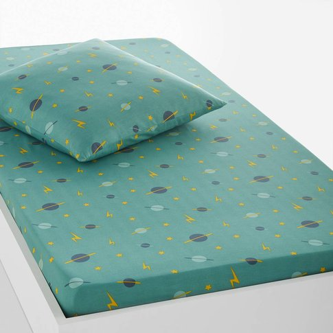 Hector Printed Fitted Sheet