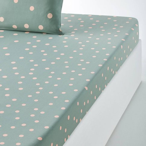 Orianne Spot Print Fitted Sheet