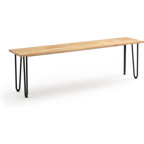 Adza Solid Oak Bench (150cm)