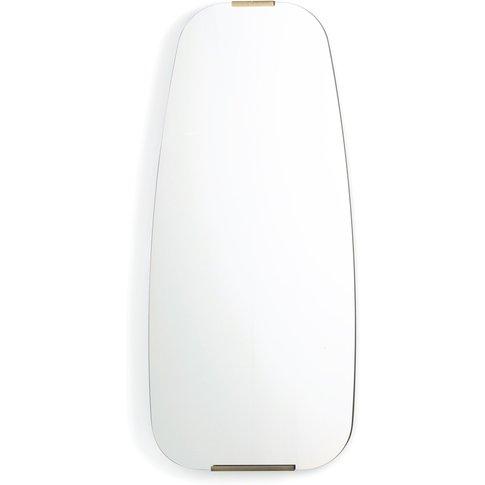 Dialect Brass Mirror, H90cm